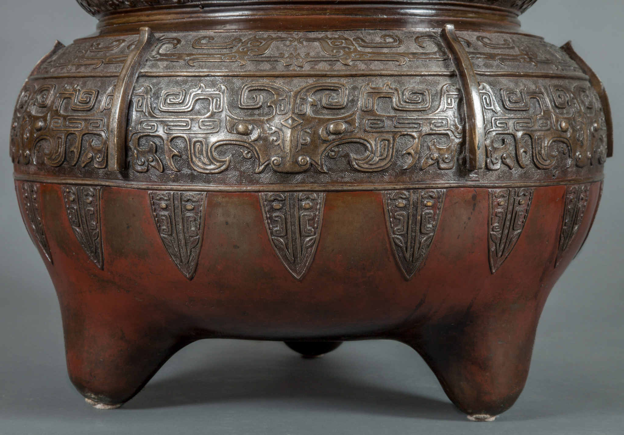 chinese antique, large metal