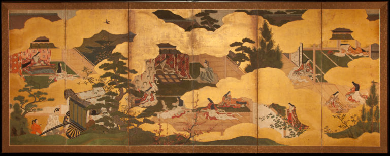 Japanese Screens, Japanese Screen, Byobu, Japanese Folding Screens, Japanese Paintings, Antique Japanese Painting, Antique Japanese Screens, Japanese Antiques, Japanese Art