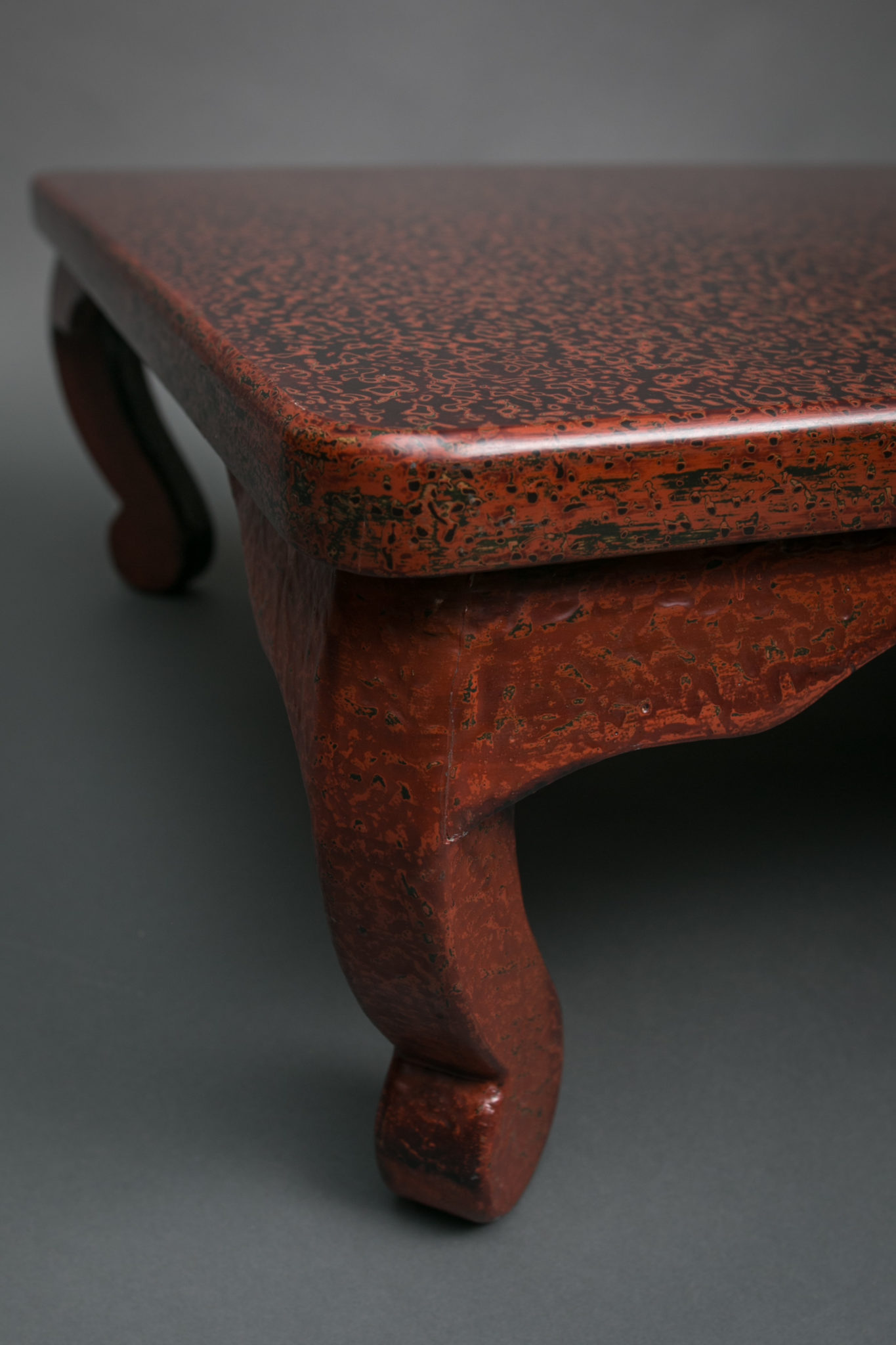 Wakasa Red Lacquer Table