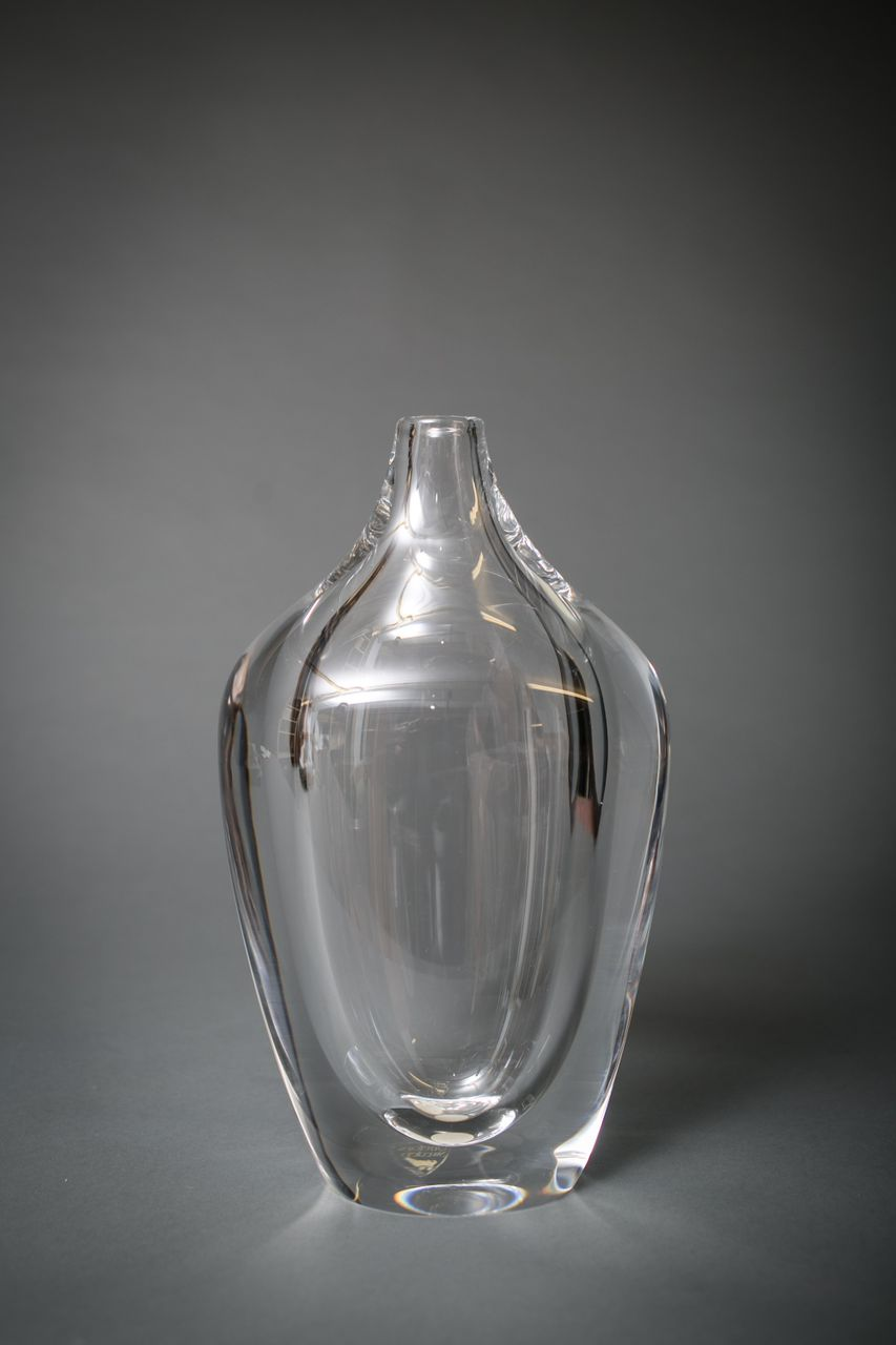 Crystal Vase from the Geoffrey Beene Collection