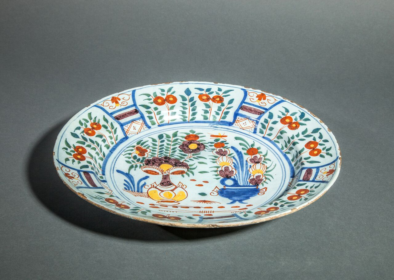 Delft 18th Century Plate