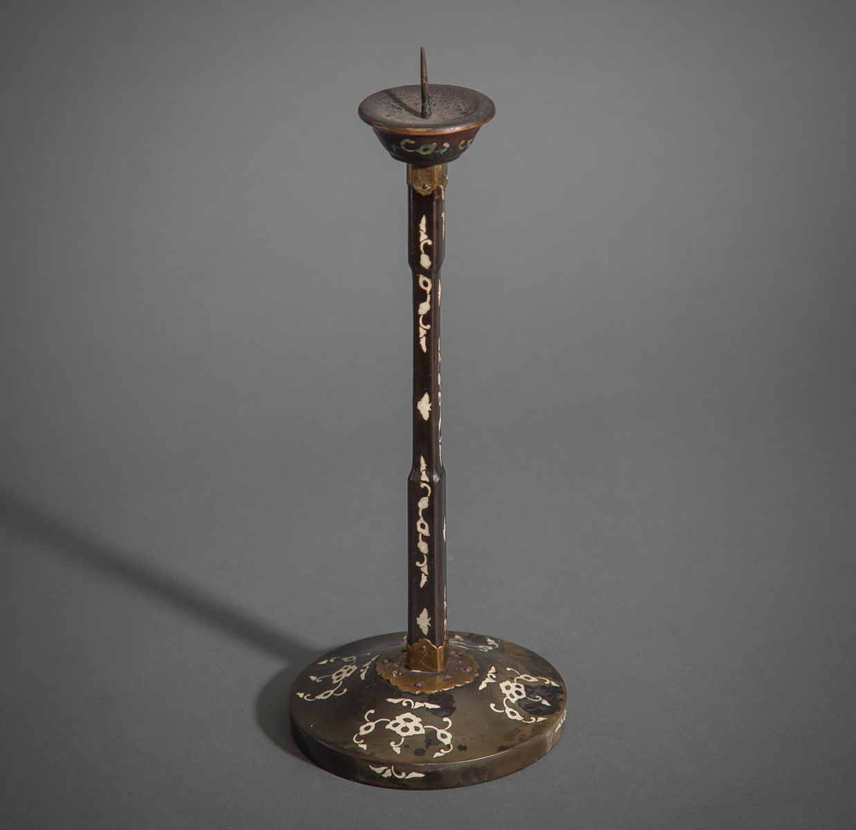 Early 19th Century Single Japanese Candlestick