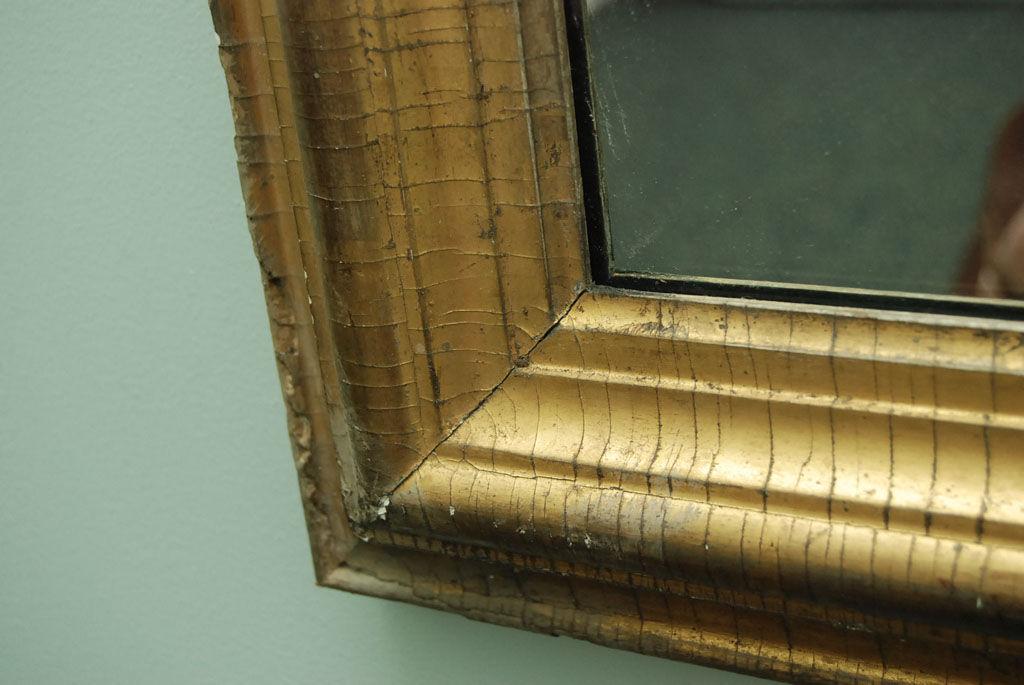 French 19th Century Gilt Wood Mirror