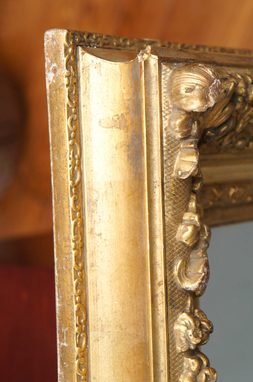 French 19th Century Giltwood Mirror