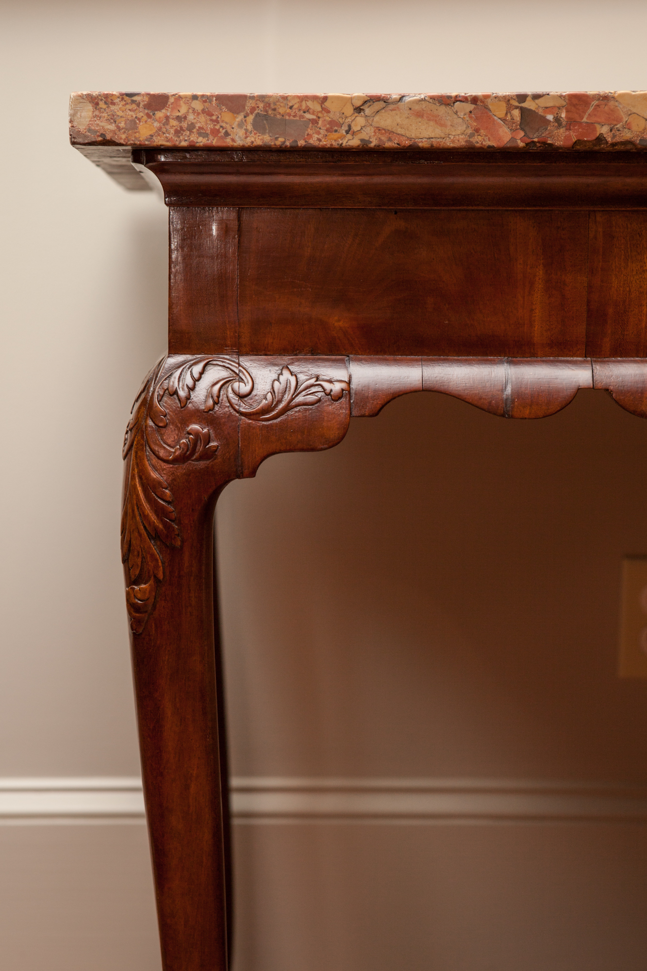 George II Period Walnut Console Table