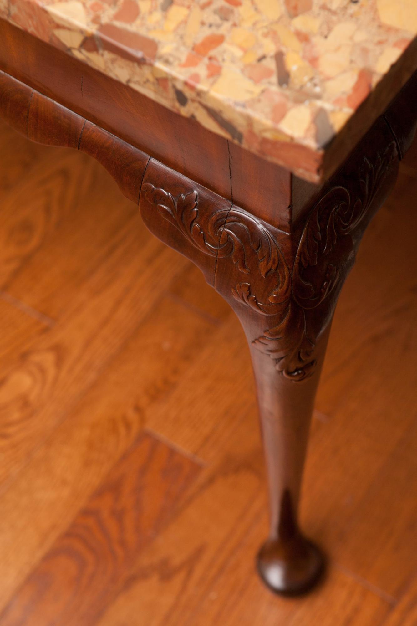 George II Period Walnut Console Table