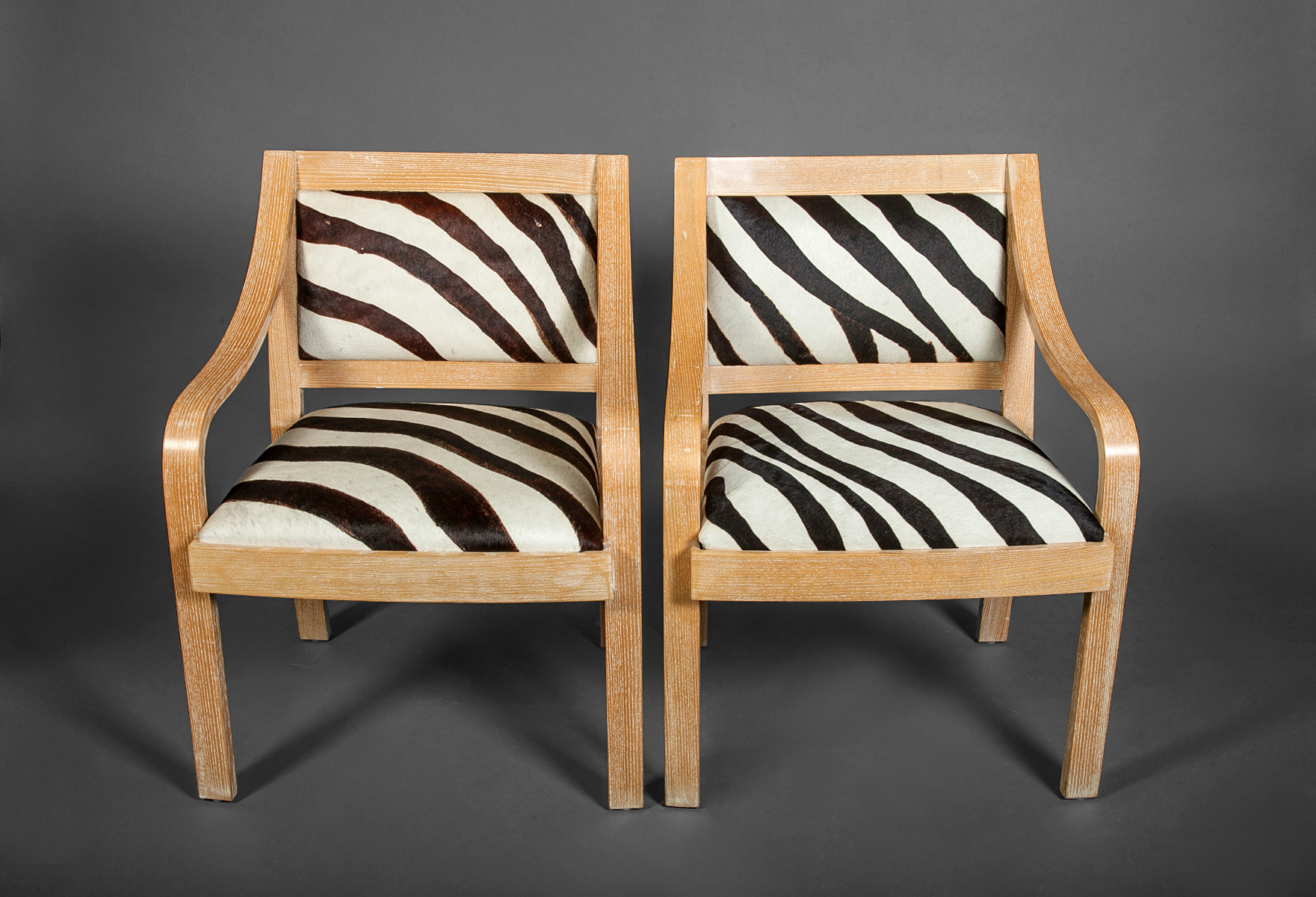 Pair of Zebra Chairs