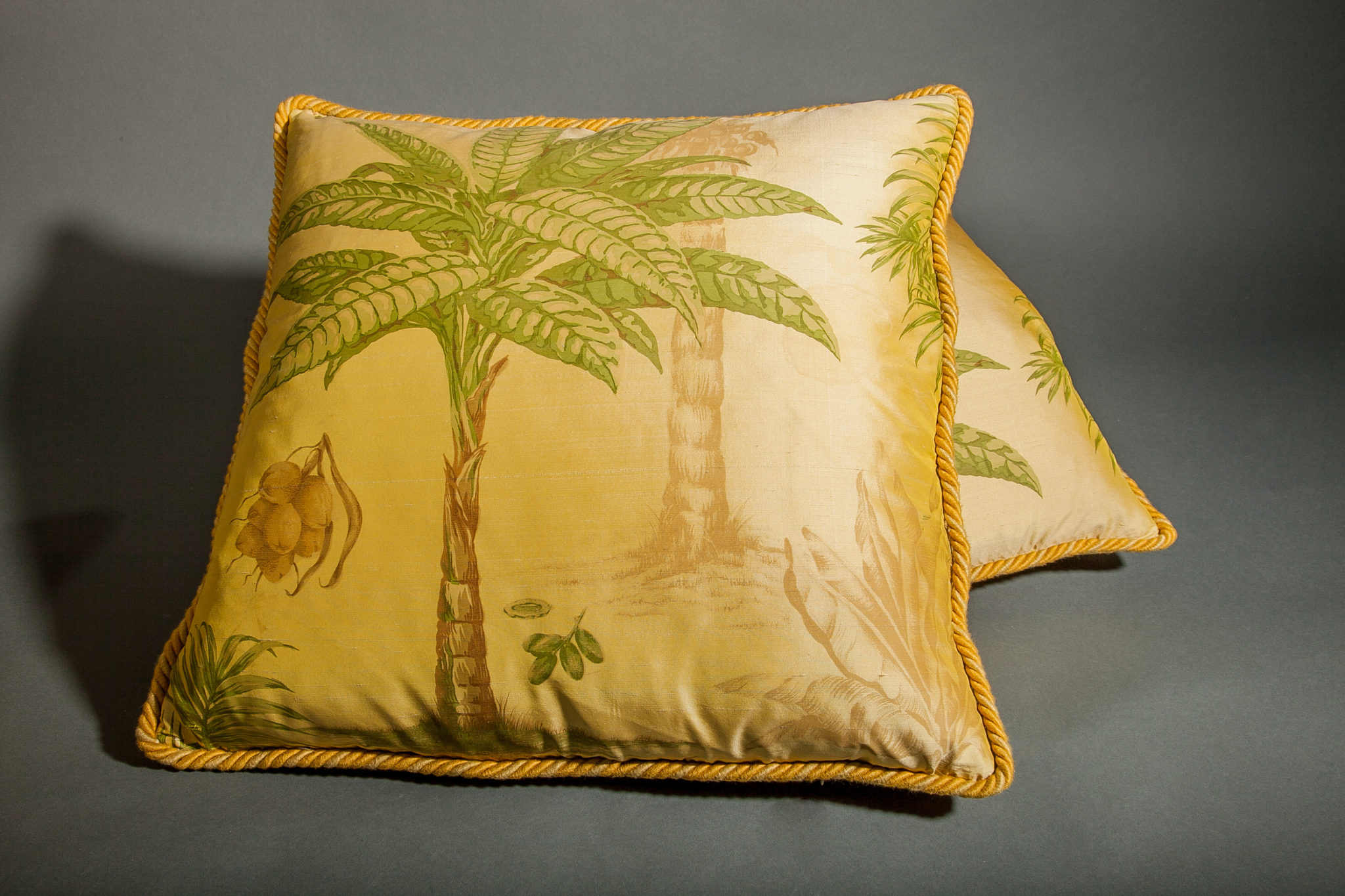 Painted Silk, Down Filled Pillow