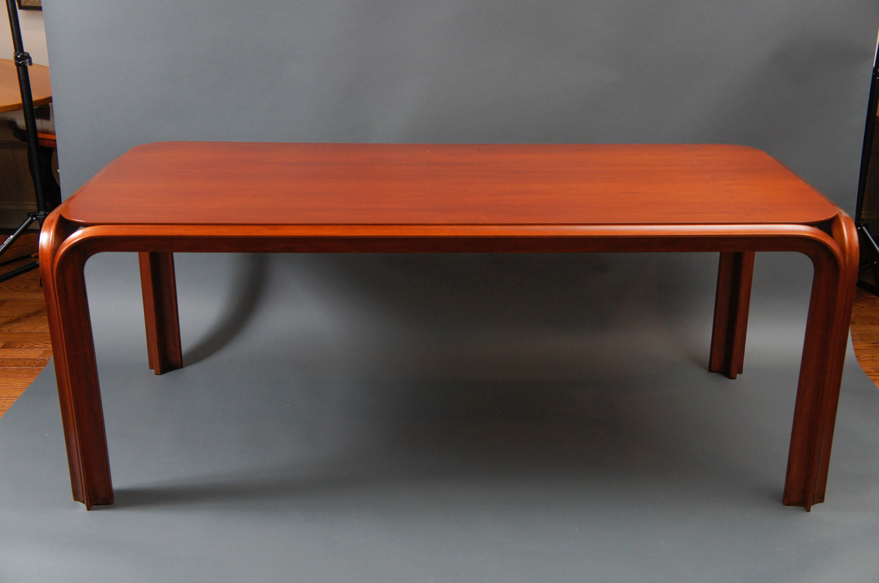 American 1930s Mahogany Dining Table