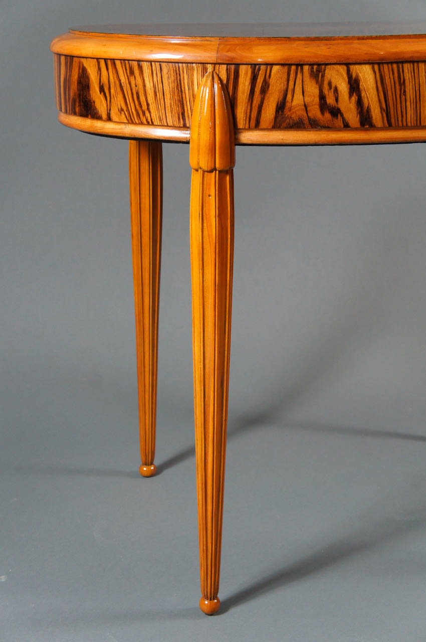 Belgian Macassar Wood Table