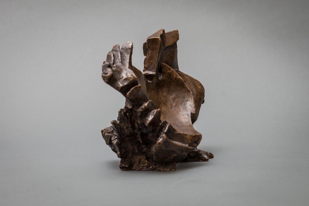 Bronze Sculpture of a Bird Signed: Lily Landis