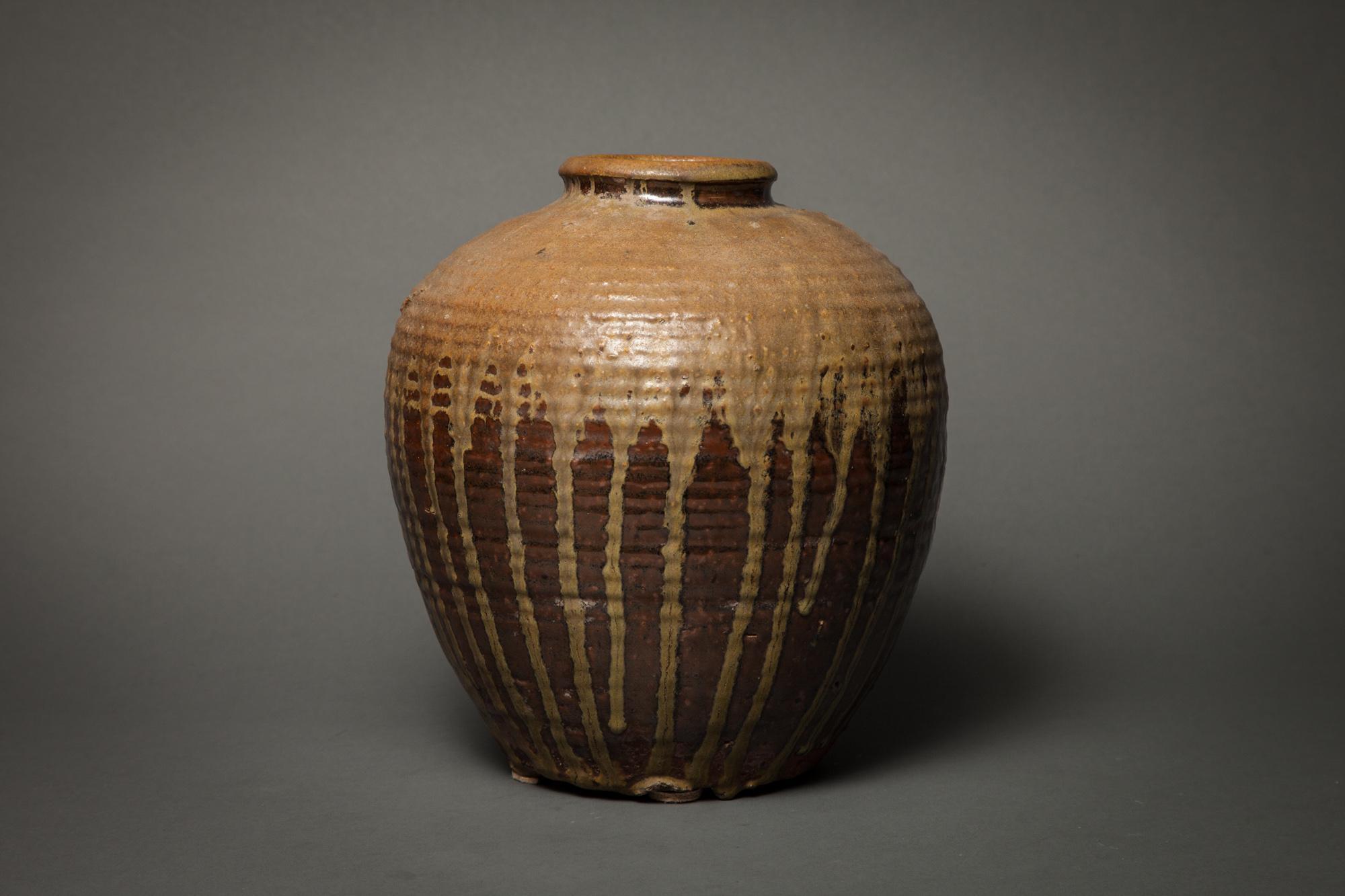 Chinese Ash-Fired Storage Jar