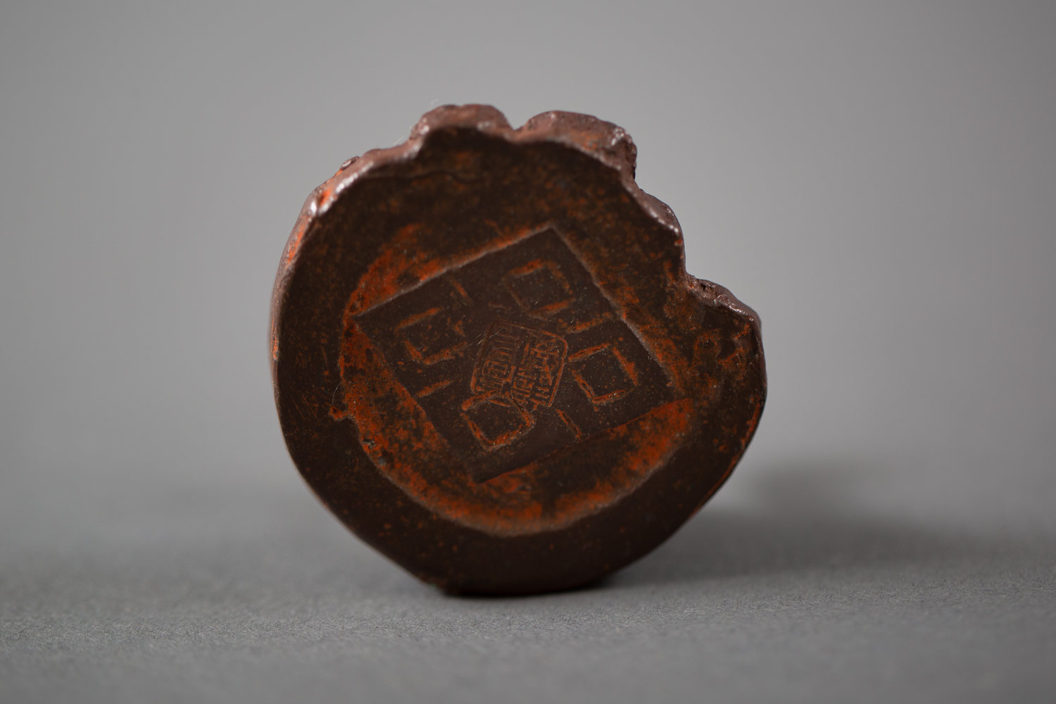 Japanese Antique Bronze Seal in the Shape of a Snake