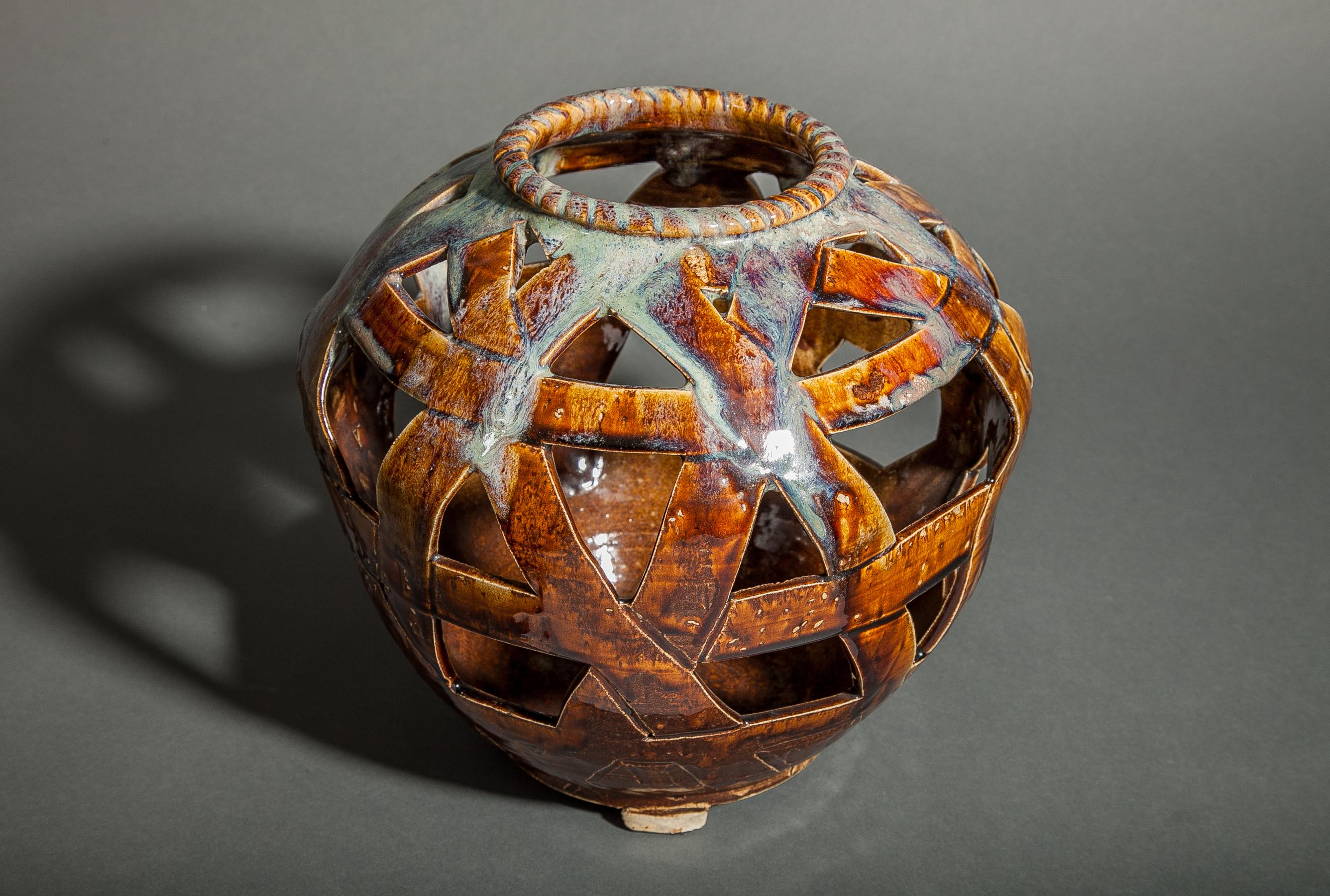 Japanese Ceramic Flower Vase