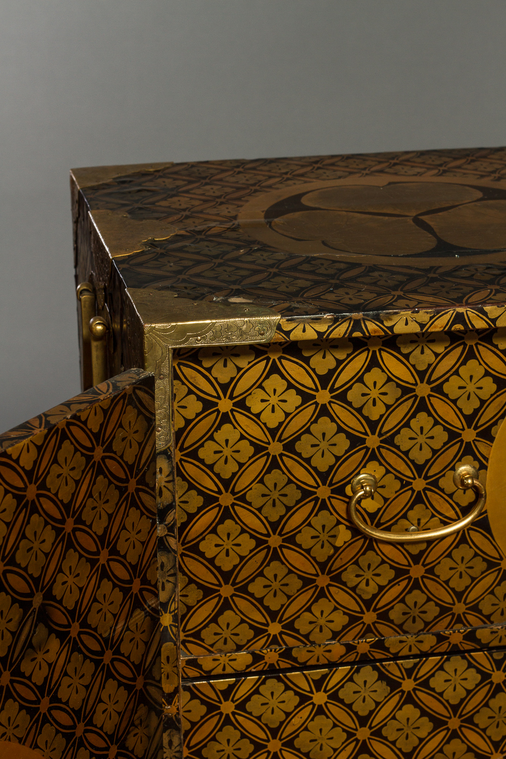 Japanese Lacquer Cabinet