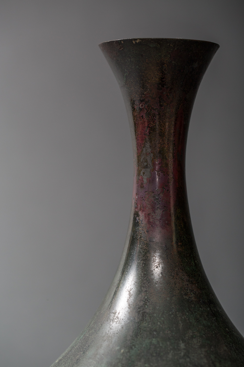 Korean 18th Century Bronze Vase