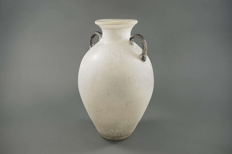 Murano Corosso Glass Vase