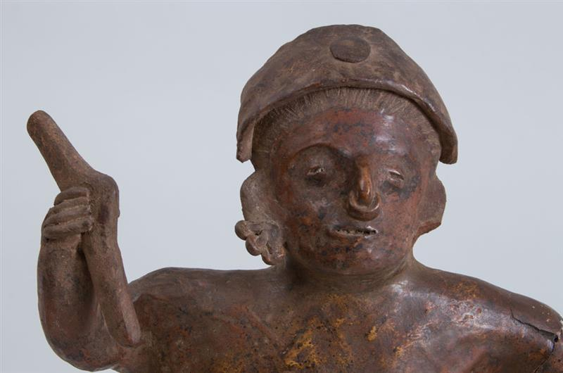 Pottery Standing Male Figure