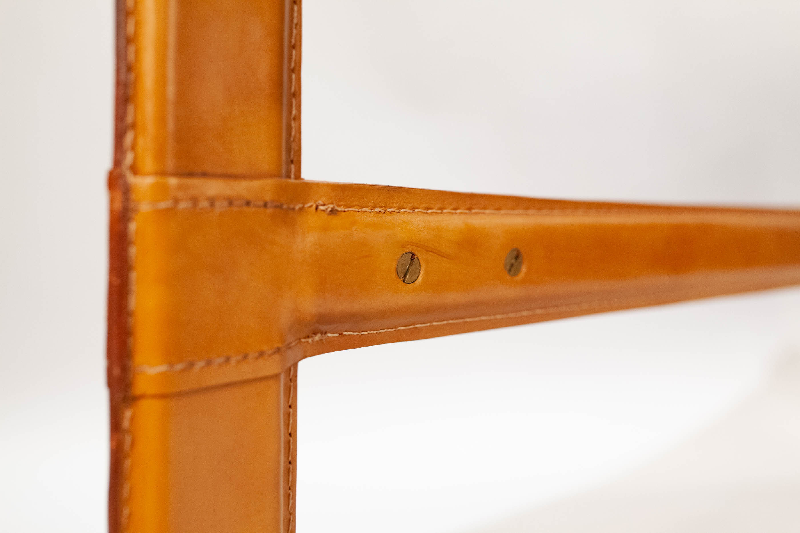 Ralph Lauren Leather and Wood Desk