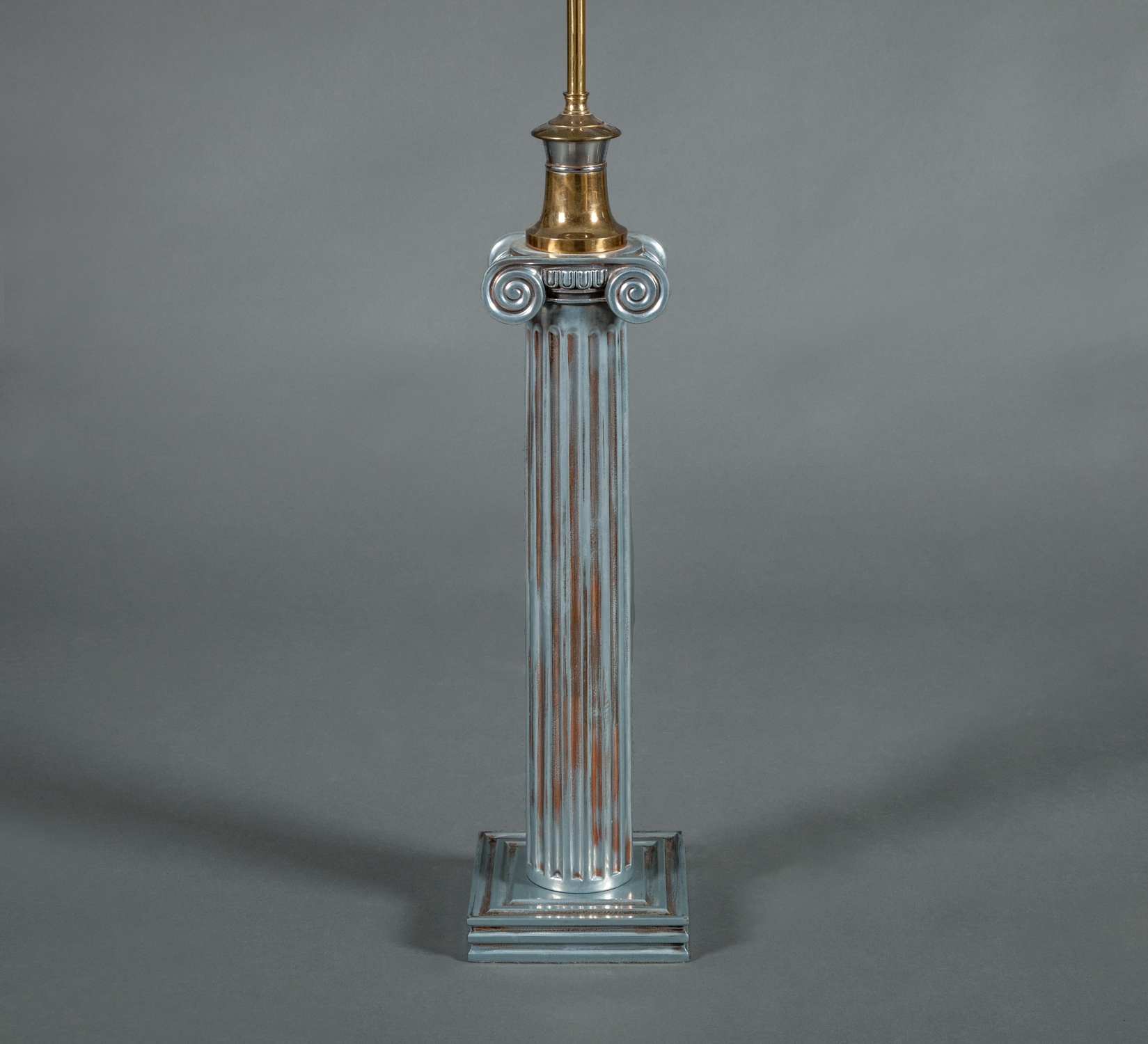 Single Neo-Classical Style Column Lamp