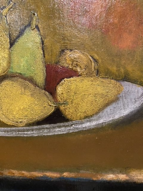 Oil on Canvas by Rene Genis, French (b.1922- d.2004)