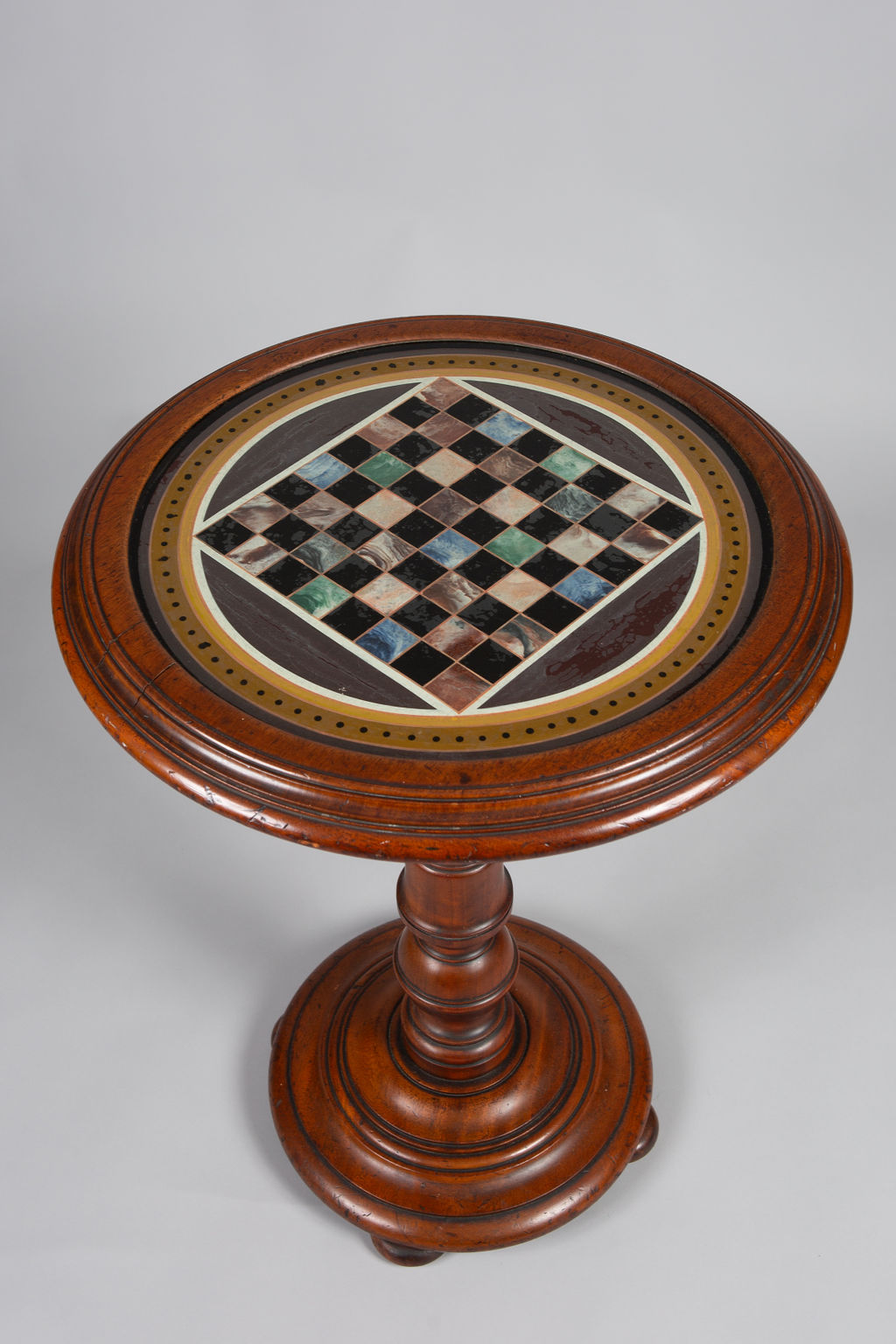 English Walnut Games Table