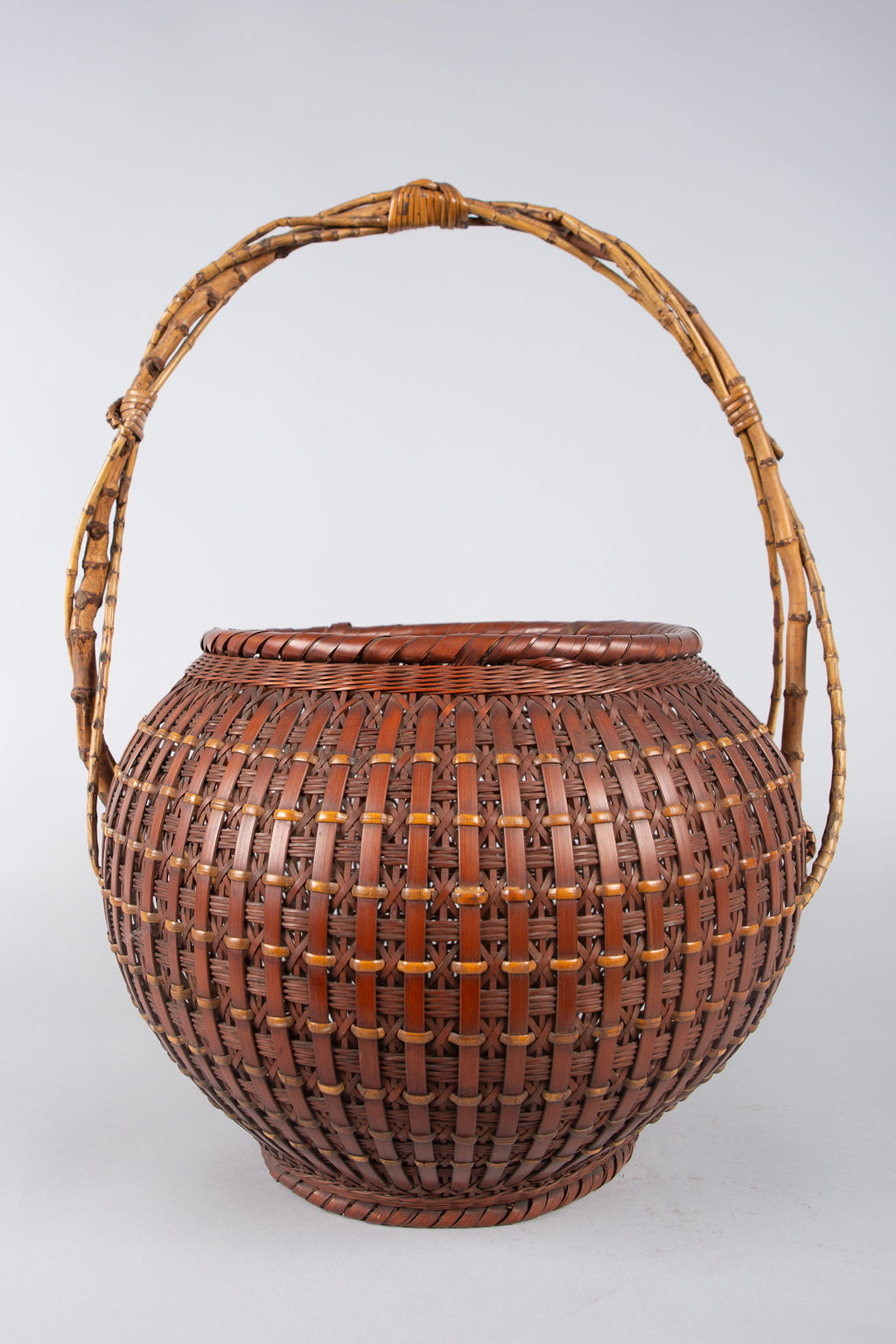 Japanese Ikebana (Flower Arranging Basket) by Teijo Sai