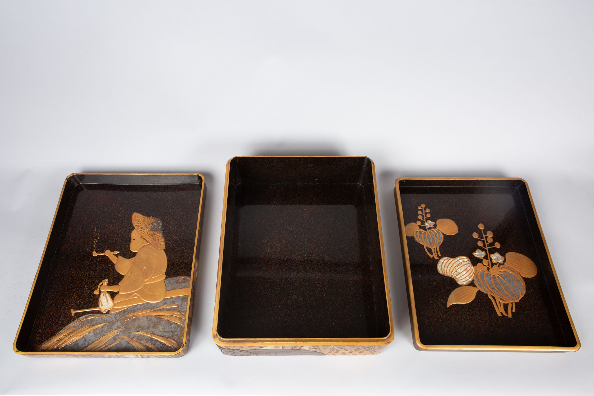 Japanese Lacquer Document Box