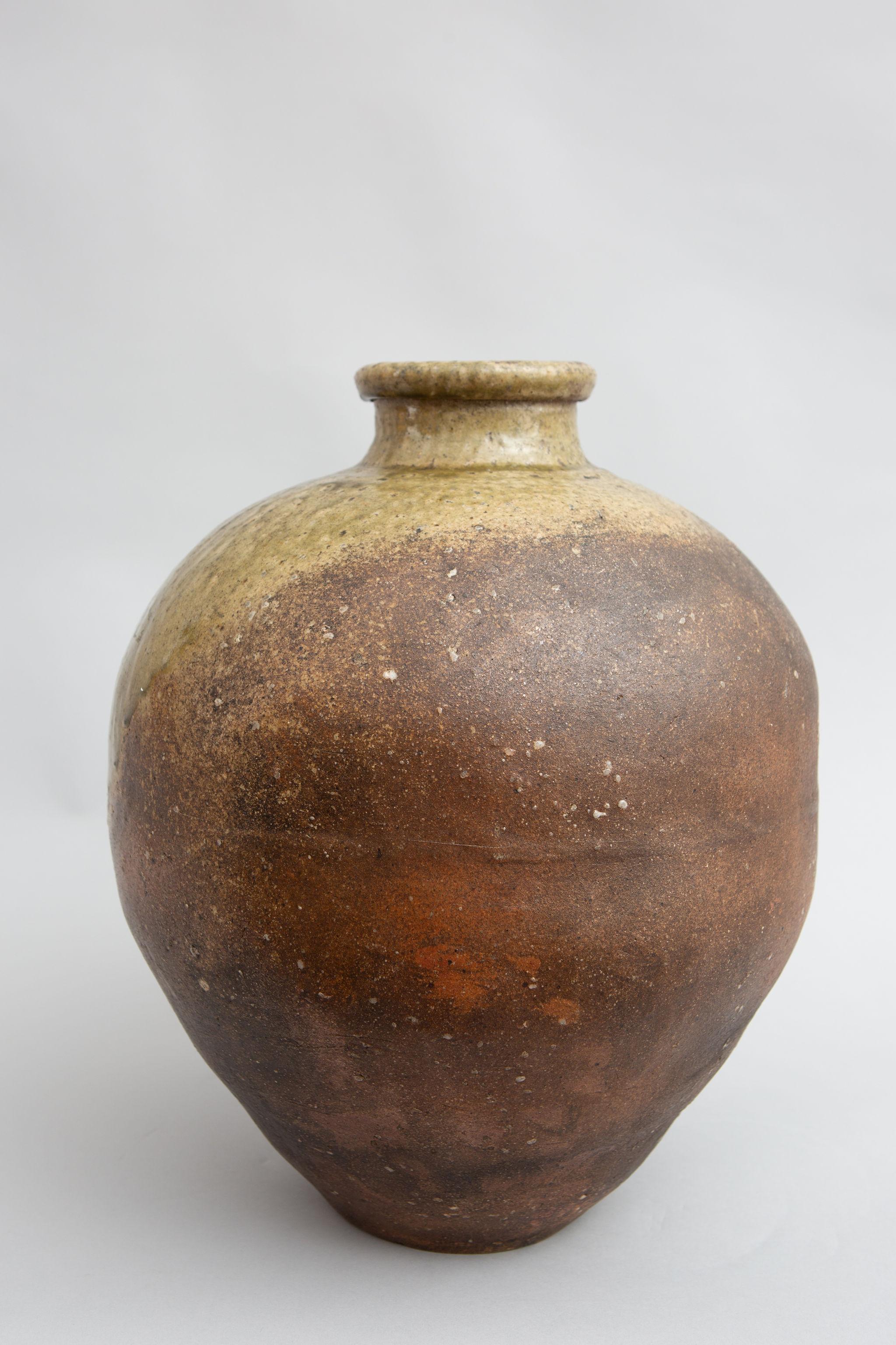 Japanese Shigaraki Vase