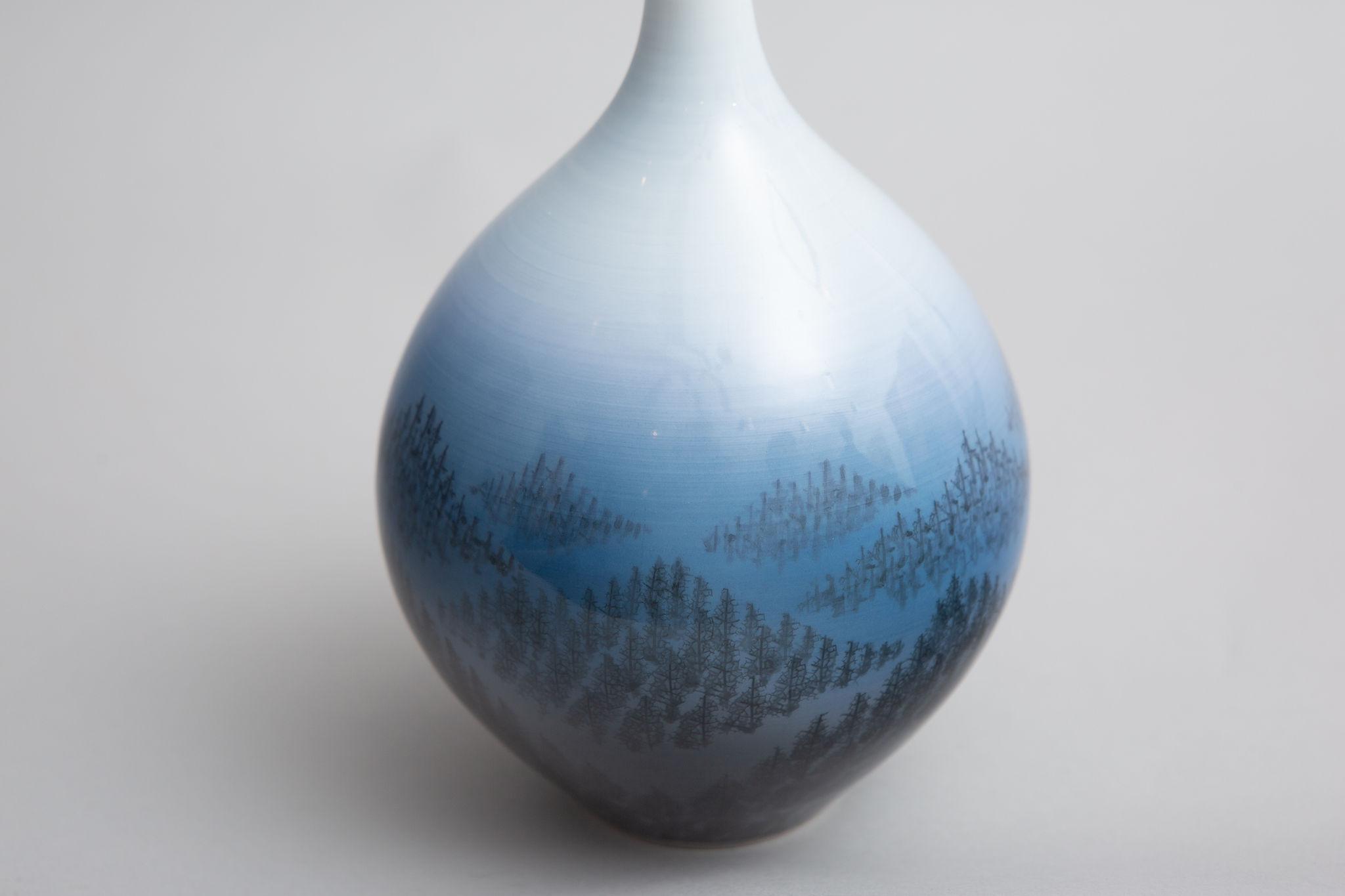 Modern Japanese Studio Bud Vase