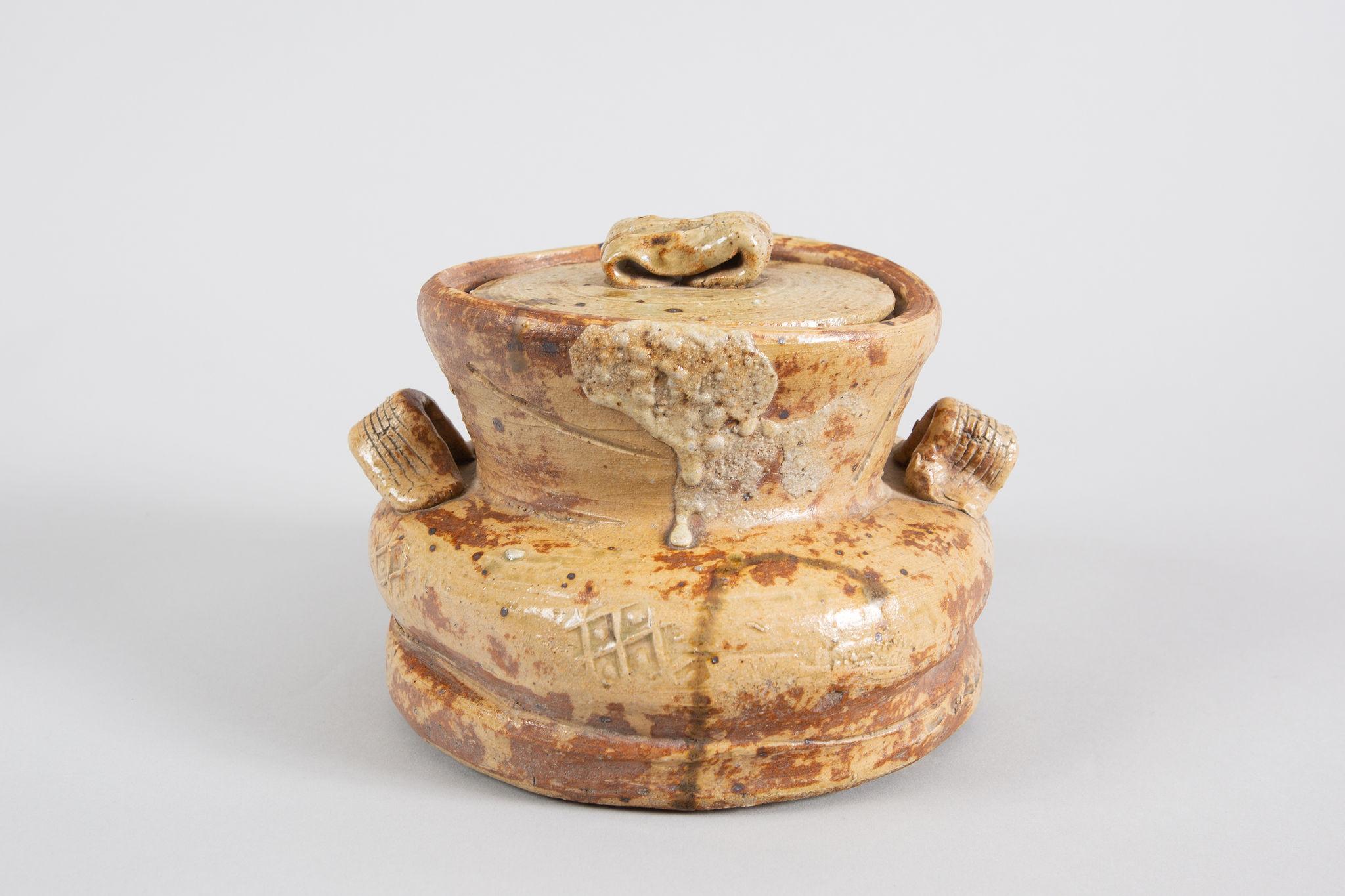 Iga Mizusashi (Water Container for the Tea Ceremony)