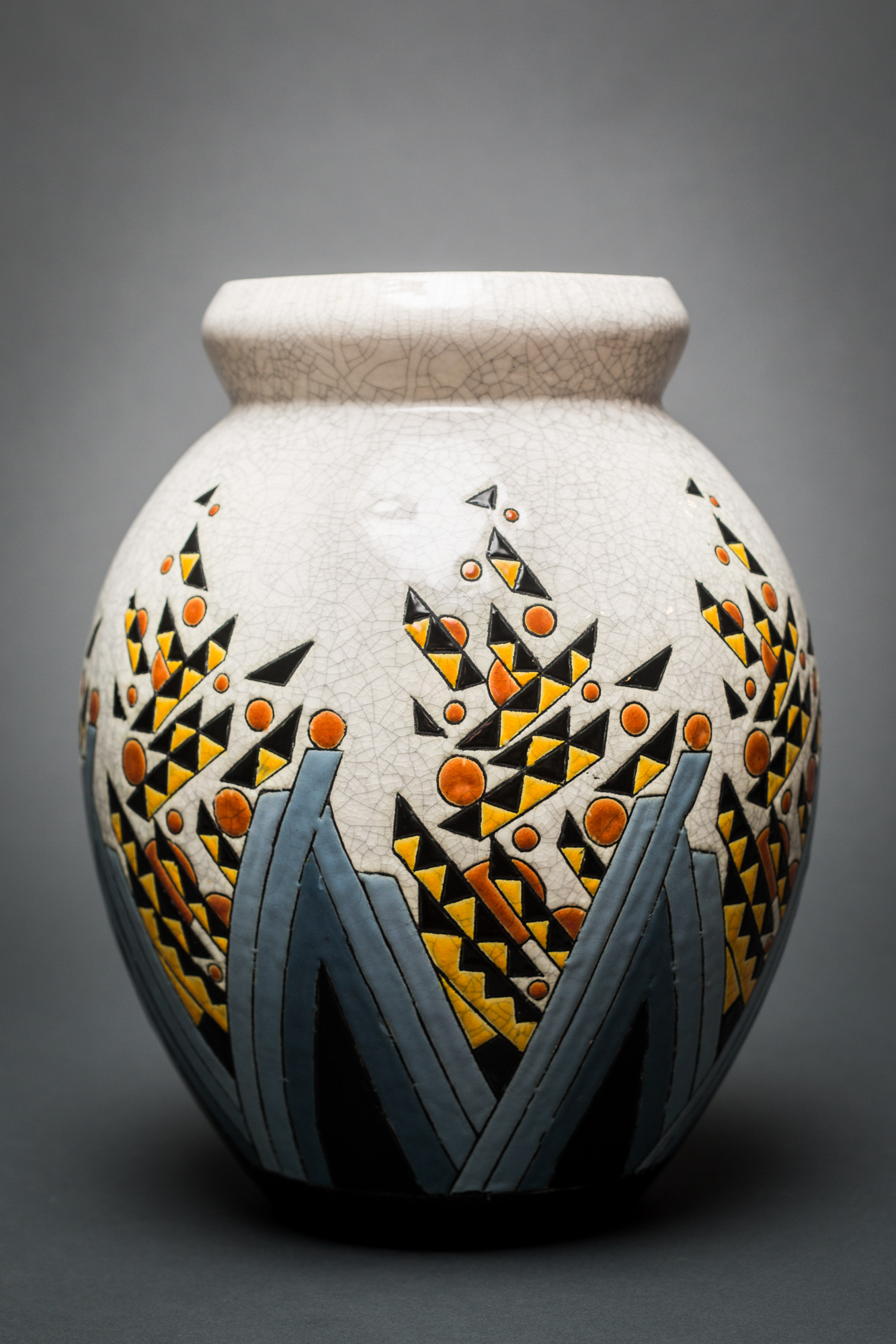 Keramis Abstract Ceramic Vase