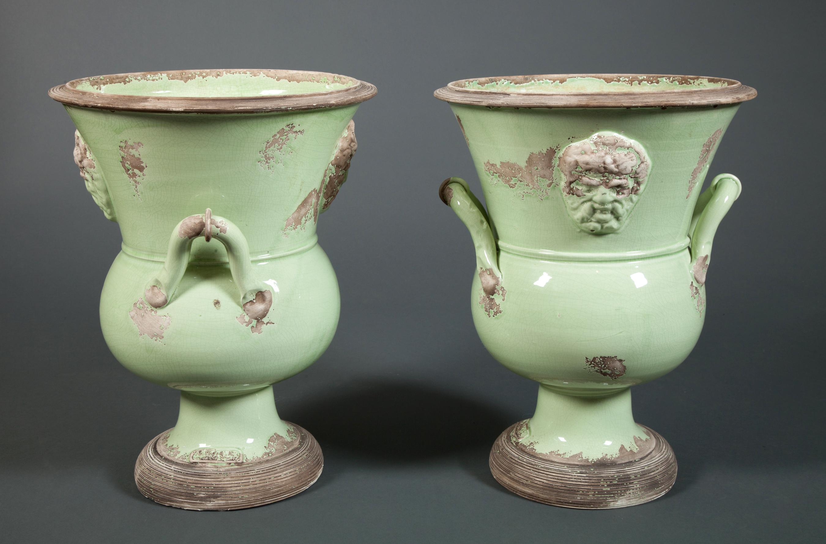 Pair of Italian Urns
