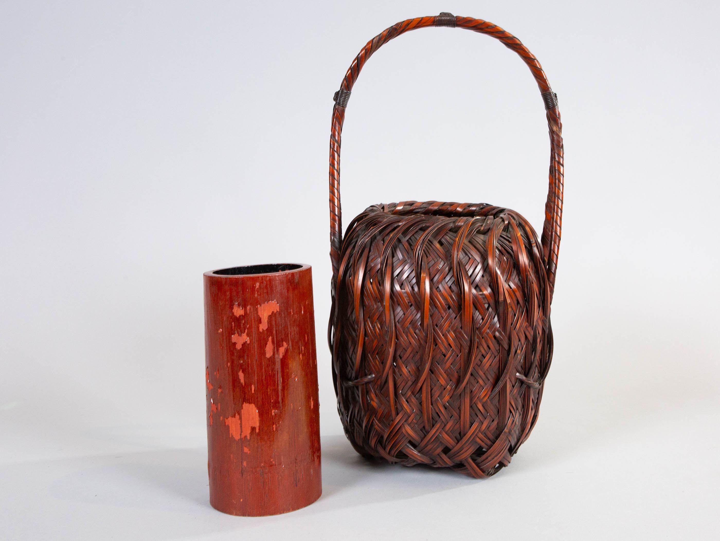 Japanese Flower Arranging Basket (Ikebana)