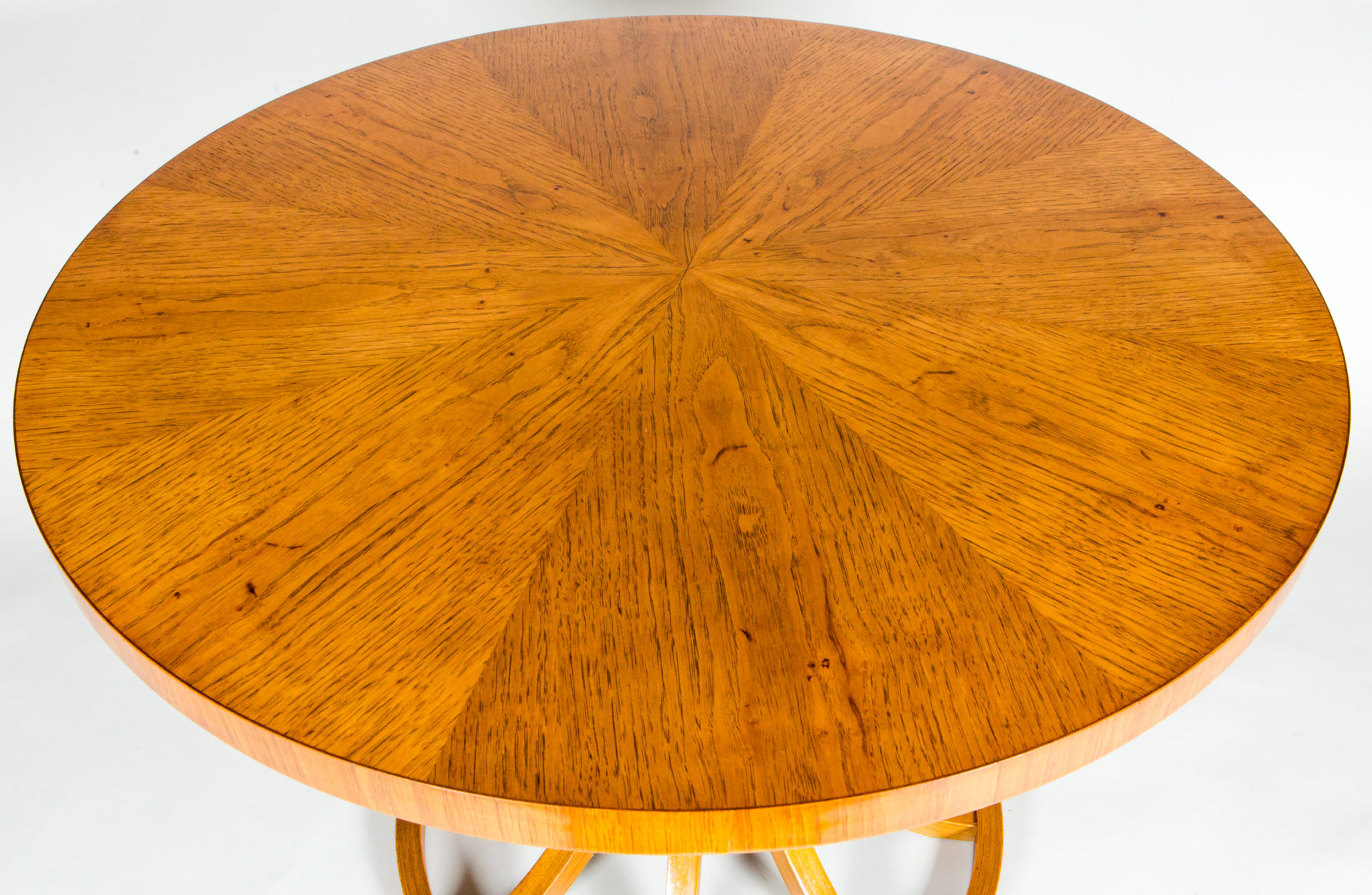 Mid Century Oak Center Table