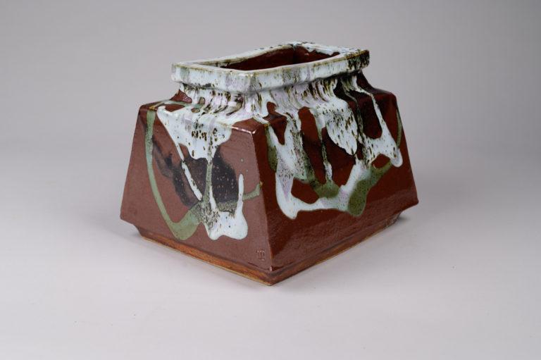 Japanese ceramic, modern ceramic, modern vase, Japanese vase, Japanese modern vase,