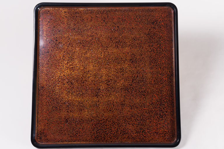Japanese lacquer, Japanese antique, antique lacquer, Japanese antique lacquer, lacquer tray, antique tray, Japanese tray, wakasa, wakasa lacquer