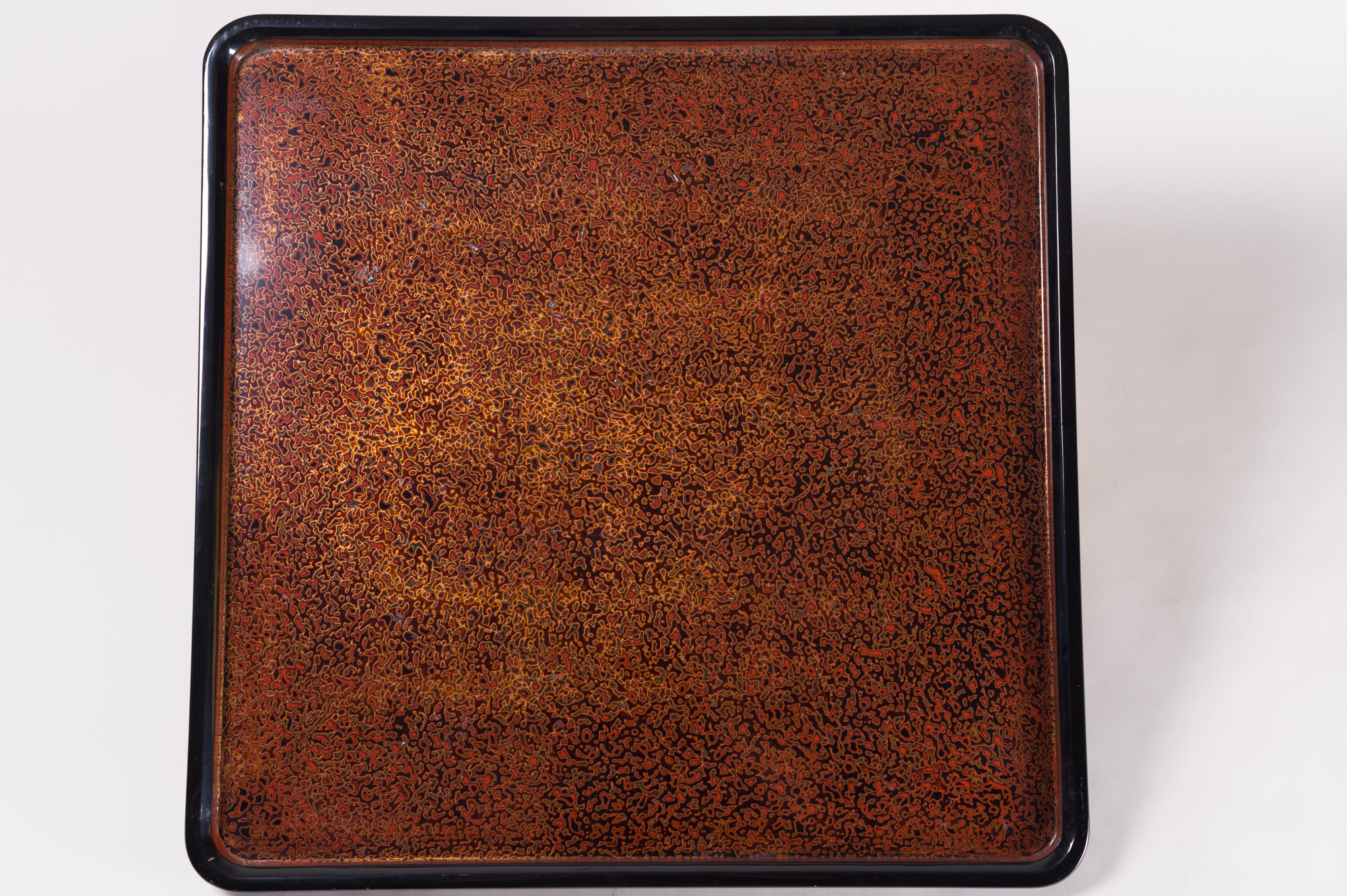 Japanese lacquer, Japanese antique, antique lacquer, Japanese antique lacquer, lacquer tray, antique tray, Japanese tray, wakasa, wakasa lacquer