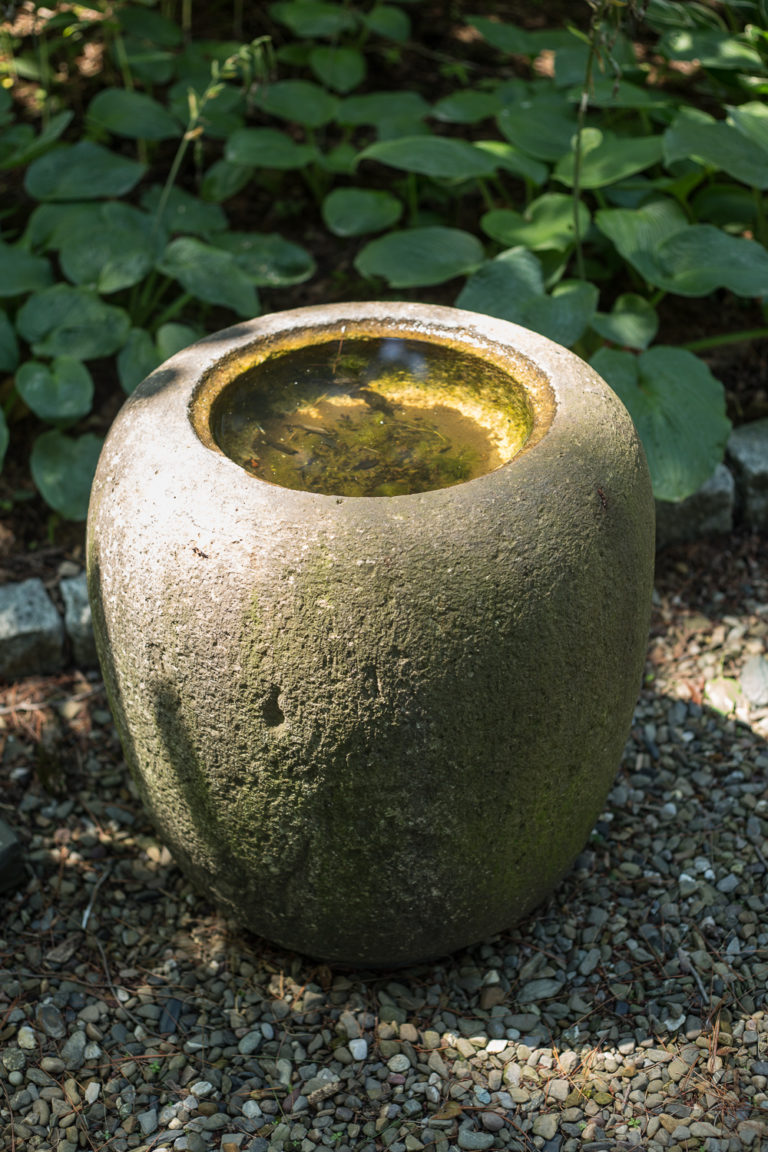 garden sculpture, antique garden sculpture, japanese garden sculpture, japanese antique, japanese handwashing bowl