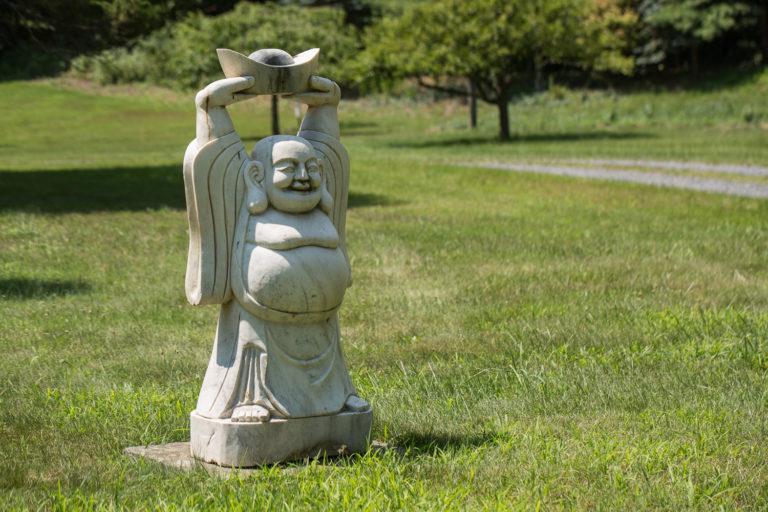 stone garden sculpture, stone buddha, buddha garden sculpture, chinese stone sculpture, chinese garden sculpture, outdoor sculpture