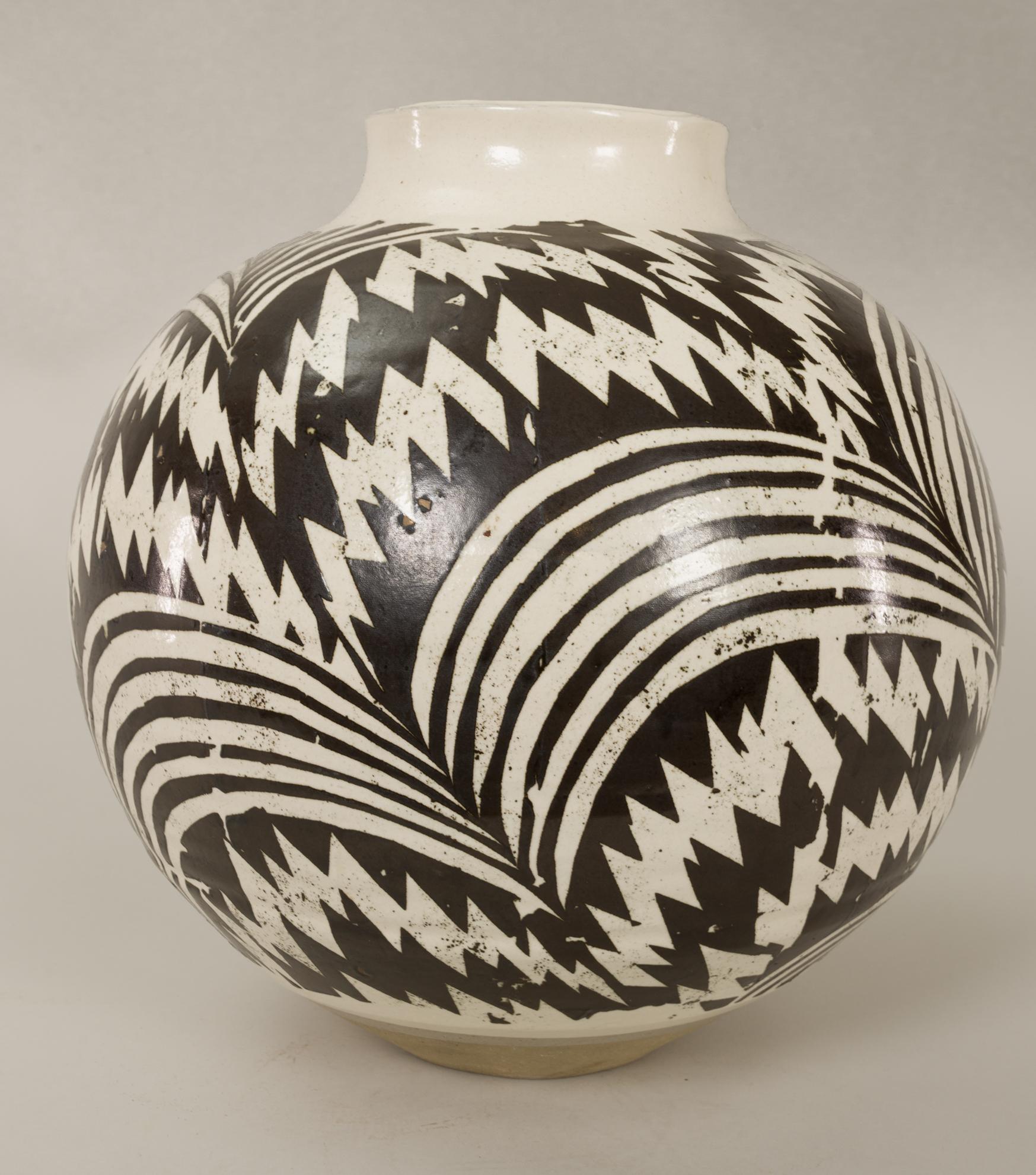 Japanese art, Japanese antique, Japanese ceramic, Japanese vase, modern Japanese vase, modern Japanese art