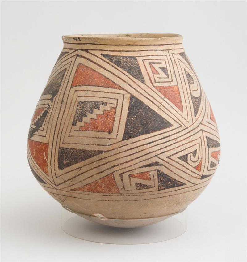 Casa Grandes Polychrome Pottery Jar