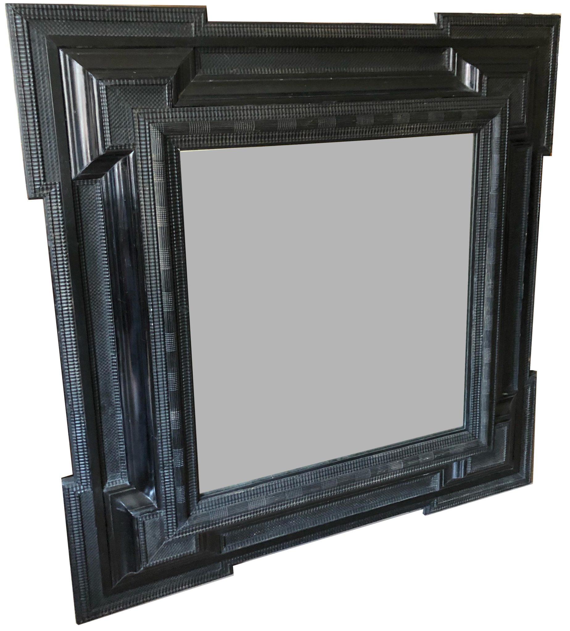Flemish Ebonized Mirror
