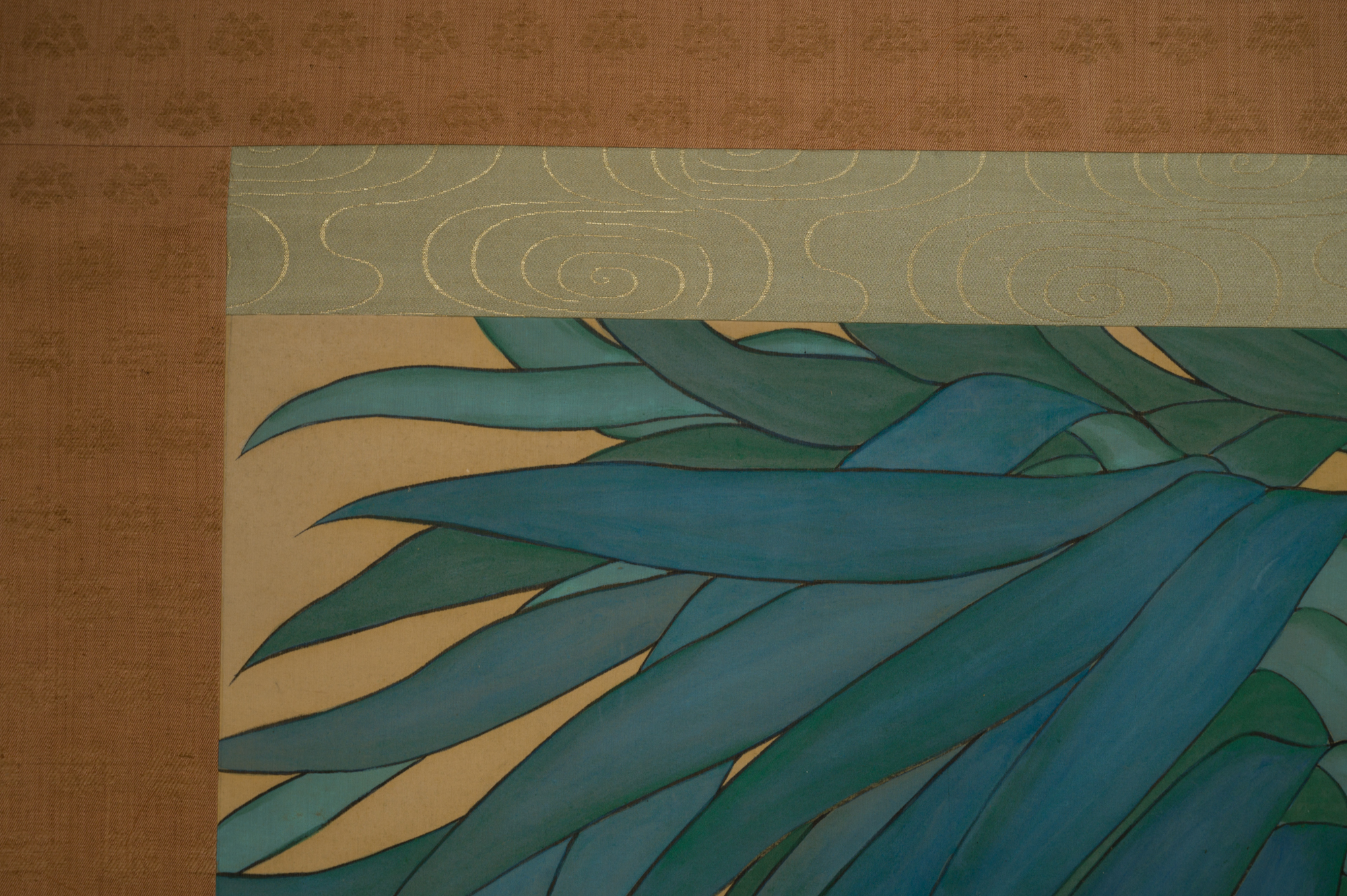 Scroll: Tropical Bird