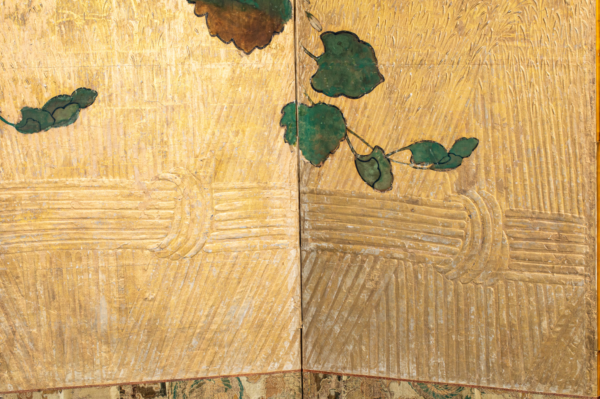 Japanese Six Panel Screen – Golden Harvest